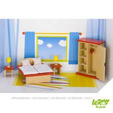 playmobil chambre parents chambre des parents pour maison de poupées 11 pièces goki