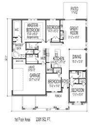 1 story open floor plans 2000 square foot house plans one story luxury sq ft open floor