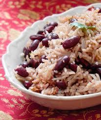 cuisiner les haricots rouges riz collé aux haricots rouges recette haïtienne une plume dans