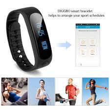 health bracelet with heart monitor images Diggro sw19 smart health bracelet fitness bluetooth 4 0 waterproof jpg