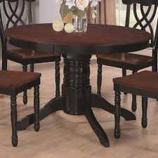 Round Pedestal Dining Room Table Two Tone Round Pedestal Dining Table Google Search Furniture U0027s