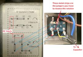 wiring how to wire up a single phase electric blower motor