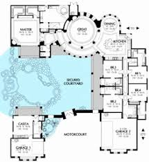 courtyard style house plans style home plans with courtyards best of extraordinary