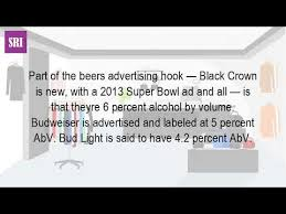how much alcohol does bud light have how much alcohol is in a bud light youtube