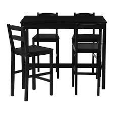 crate and barrel bar table jokkmokk bar table and 4 stools ikea within decor turner black