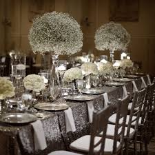 wedding ideas silver andack wedding decorations whiteackred