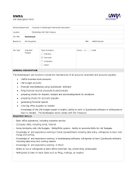 Resume Samples Bookkeeper by 28 Bookkeeping Job Description Resume 27 Best Bookkeeper