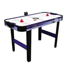 kids air hockey table buy electronic air hockey table 48in indoor play kids game room