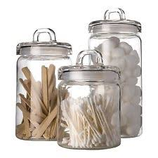 glass canister sets for kitchen glass kitchen canister sets ebay