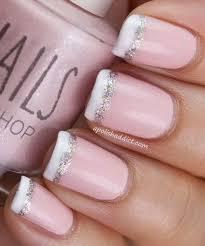 70 stunning glitter nail designs french nails glitter nail