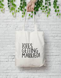 wedding totes totes getting married wedding tote bag 100 cotton 2476378