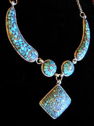 turquoise tibetan necklace images Tibetan tribal jewelry sterling silver saddle ring choice of JPG