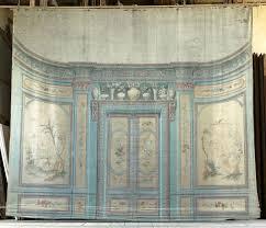 decor de chambre décor de théâtre toile de fond représentant une partie de la
