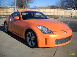 nissan orange 2007 solar orange pearl nissan 350z enthusiast coupe 24148647