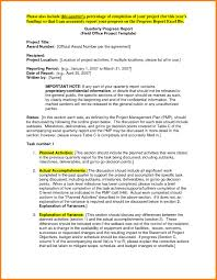 project monthly status report template monthly status report template project management awesome 12