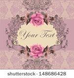 shabby chic frame free vector art 5267 free downloads
