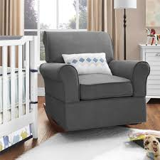 Living Color Nursery by Dorel Living Baby Relax Mackenzie Rocker Gray