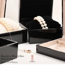bracelet box images Top quality black paint box for bracelet bead watch bangle box or jpg