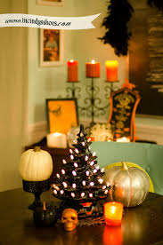 decorated halloween trees if you can dream it you can diy from vintage ceramic christmas
