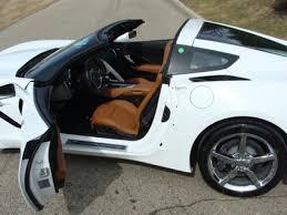 white corvette interior rick corvette conti archive stingray coupes in stock
