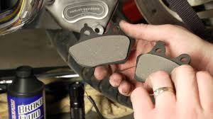 how to install brake pads on a harley davidson road glide by j u0026p
