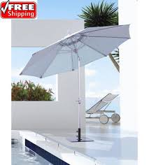 Tilting Patio Umbrella Best Selection Tilt Patio Umbrellas Galtech 9 Ft Deluxe Auto