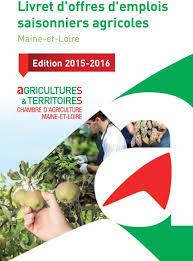 offre emploi chambre agriculture livret d offres d emplois saisonniers agricoles pdf