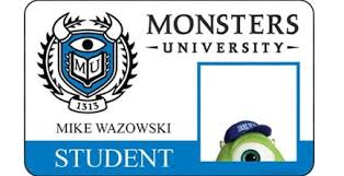 monsters university u0027 posters reveal young randall u2022 hypable