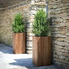 outdoor wooden planter h safe cedar bench planter large outdoor
