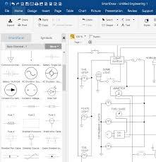 blueprint software try smartdraw free circuit diagram maker free download online app
