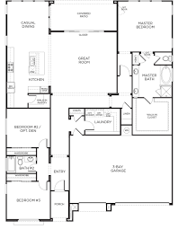 plan 1x castle rock las vegas pardee homes