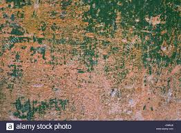 shriveled paint wall green texture background pattern stock photo