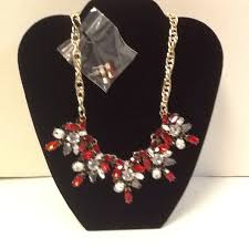 fashion jewelry red necklace images Pat 39 s creations collectibles costume jewelry 2 JPG