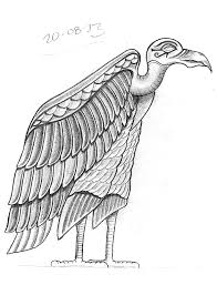 simple vulture tattoo tattoo sketch a day august 2013