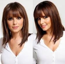 med length hairstyles 2015 medium length hairstyles with bangs for fine hair beauty