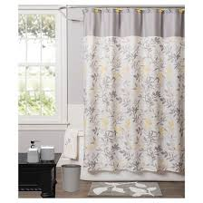 Cloth Shower Curtains Trellis Fabric Shower Curtain Yellow Saturday Knight Ltd Target