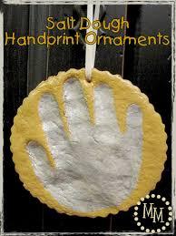 salt dough handprint ornaments the scrap shoppe