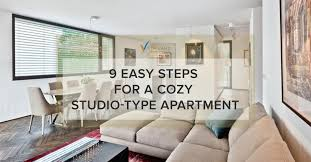 studio type apartment 9 easy steps for a cozy studio type apartment vista land