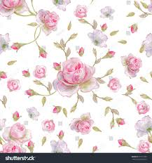 flower wrapping paper seamless floral pattern pattern wrapping paper stock illustration