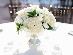 white centerpieces charming picture of white wedding decoration design ideas using