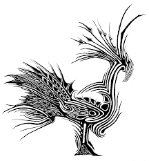 bird line drawing by evilhomer145 drawings prints u0026 textiles 2