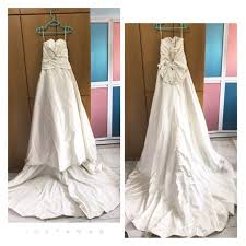 preloved wedding dresses preloved wedding dress women s fashion clothes dresses skirts