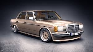 mercedes w123 amg mercedes w123 280e with amg kit on behance
