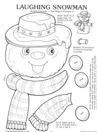 lunch bag template snowman paper bag craft learningenglish esl