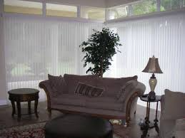 large windows in florida covered with luminette vertical blinds jpg vertical sliding panel blinds