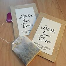 tea bag wedding favors 10 personalised envelopes wedding favours gift retro rustic let