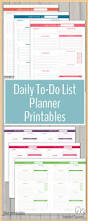planner page templates 220 best free printable to do lists lists images on pinterest stay on track in 2016 with these daily to do list planner printables