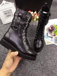 mens biker boots fashion new 2018 womens combat boots lace up fall winter hlaf booties