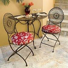 Metal Folding Bistro Chairs Round Folding Tables Foter