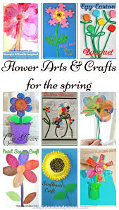 9 flower arts u0026 crafts projects for kids u2013 the pinterested parent